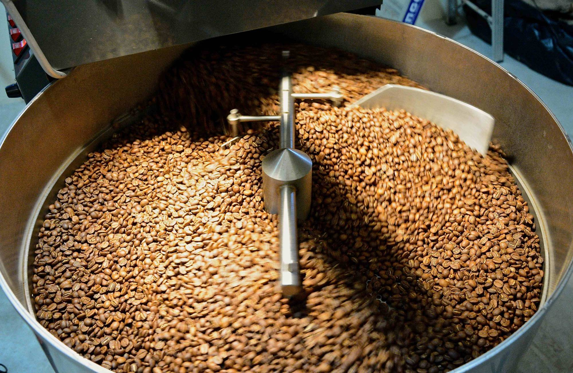Roasting beans for the perfect cup of coffee