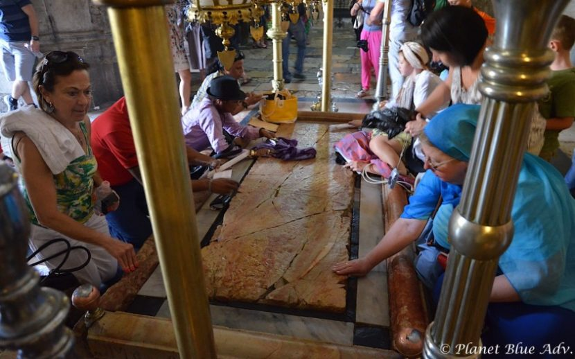 Israel in Photos: Stone of Anointing