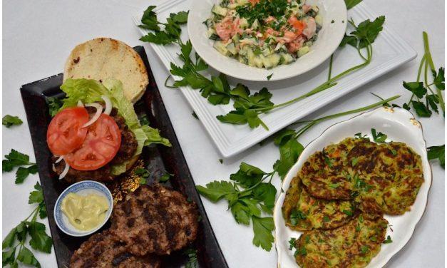 Cooking with Wafu: Smoked Salmon Salad and the 'Original' Burger Recipe