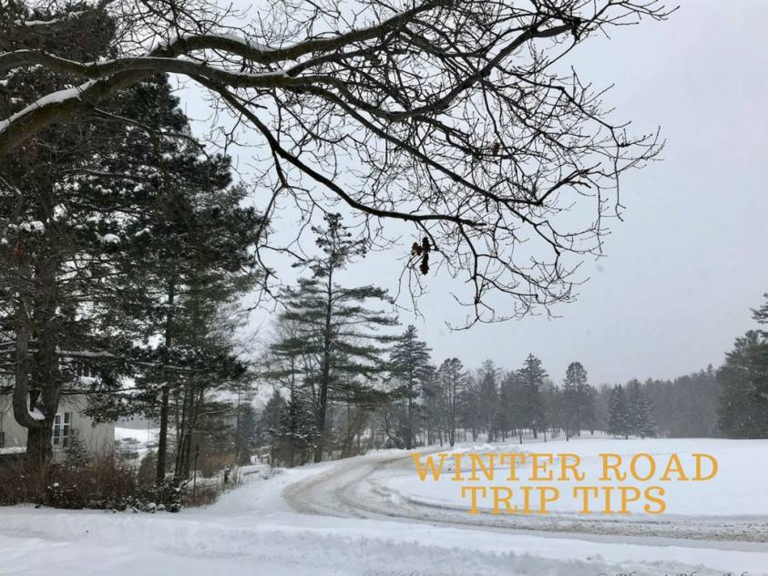 Packing Tips for a Winter Road Trip