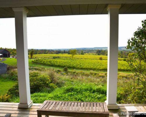 Resting House B&B porch views