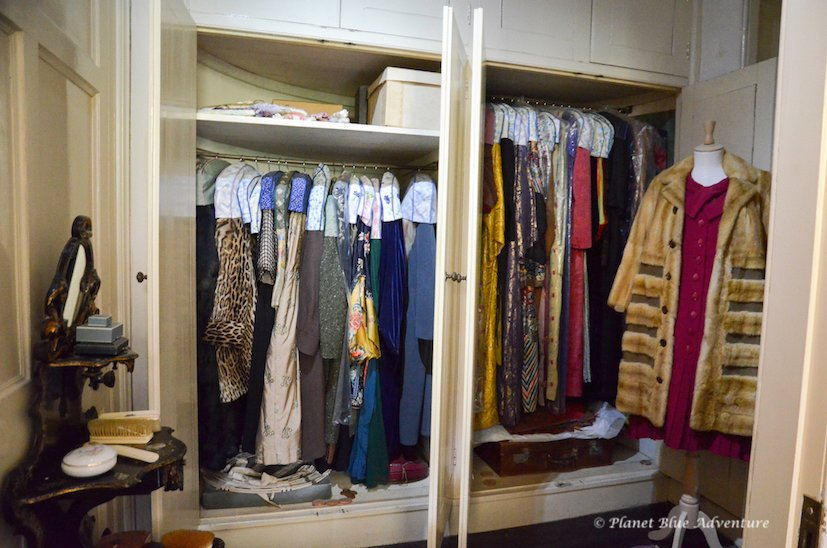 Agatha Christie wardrobe Greenway