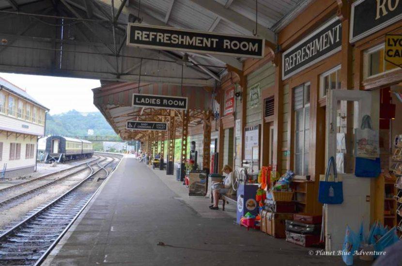Dartmouth steam train station