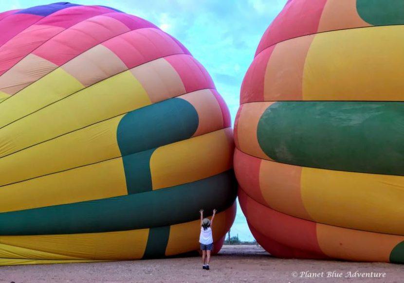Summer in Phoenix Hot Air Ballooning