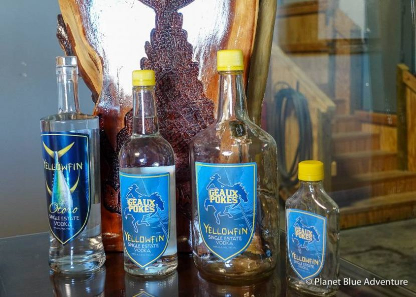 Where to Eat and drink in Lake Charles Yellowfin Vodka
