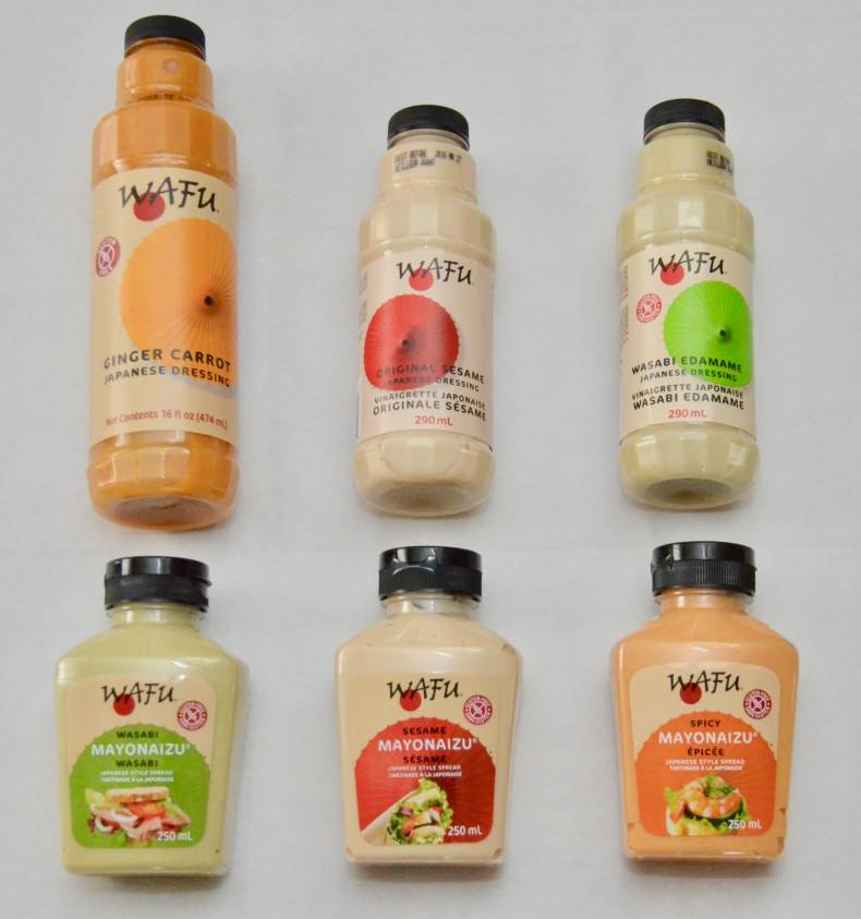 Wafu Salad Dressings