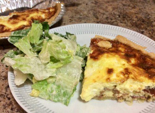 3 Easy Dinner ideas Quiche Lorraine