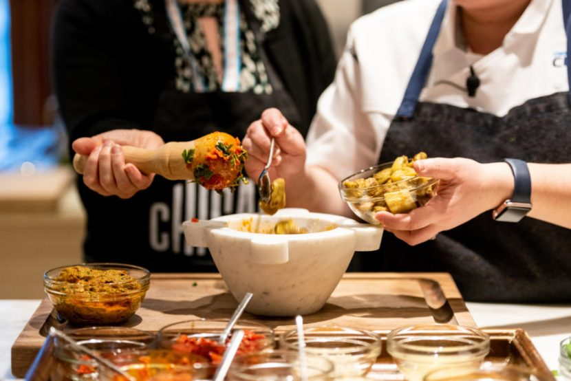 Genovese Basil Pesto Chicago recipes credit Alex Akamine